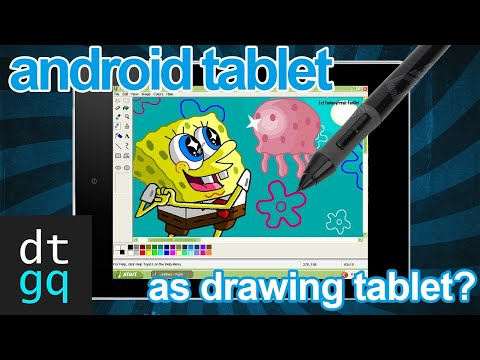 Use Your Android Tablet to Draw on PC! [Tut]