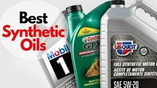 10 Best Synthetic Oils   Top Ten Best Synthetic Car Oils #syntheticoils