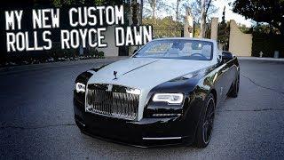 Here in my garage, my custom Rolls Royce Dawn!