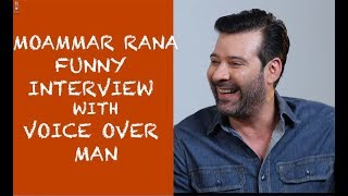 Momar Rana Funny Interview with Voice Over Man - Episode #19