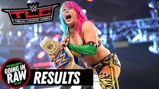 WWE TLC 2018 Review & Full Results (Going In Raw Pro Wrestling Podcast)