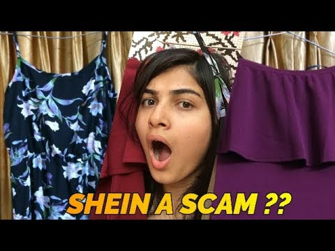 HUGE SHEIN TRY ON HAUL ||2 DRESSES UNDER ₹1000|| REVIEW + IS SHEIN A SCAM ? INDIA