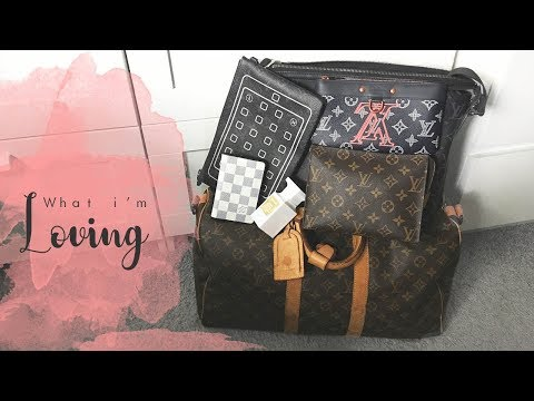 Chrisobv // What i'm loving & a broken Keepall 45