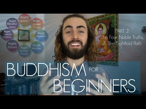 The Four Noble Truths & The Eightfold Path (Buddhism For Beginners Part 2)