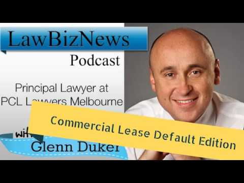 Glenn Duker Commercial Lease Default