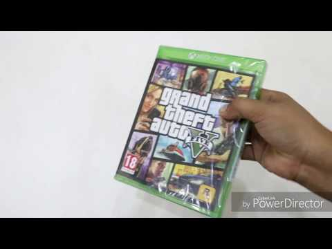 GTA 5 XBOX ONE unboxing | in depth unboxing | hindi |