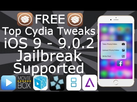 NEW Get Top Cydia Tweaks & Apps FREE iOS 9 / 10 / 11 iPhone iPad iPod Touch