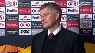 """""""Brandon Williams was absolutely exceptional!"""" Solskjaer reacts to Partizan 0-1 Man Utd"""