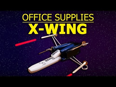 Office-Supply X-Wing