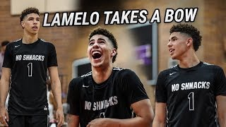 LaMelo Ball GOES OFF For 26 In Drew League! TAKES A BOW & Disrespects Team After Three!
