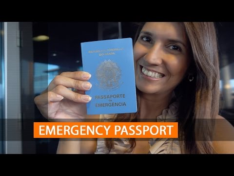 How to get an Emergency Passport abroad and replace your lost passport