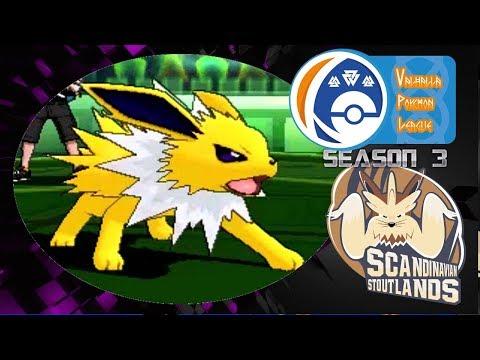 JOLTEON IS ON FIRE VPL S3 W7 VS Houston Raichu Pokemon Sun and Moon wifi battle