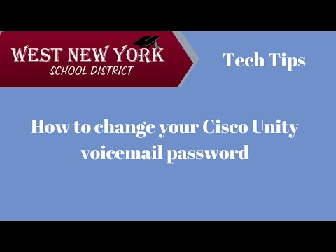 How to change your voicemail password