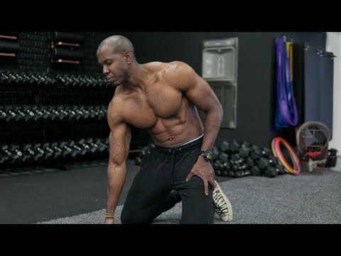 Get A Bigger Chest And Shoulders Without Weights (Full Workout)