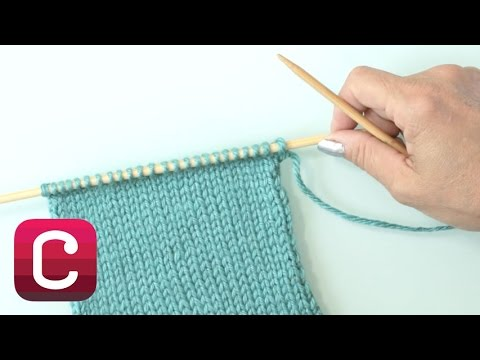 Learn to Knit Stockinette Stitch with Debbie Stoller | Creativebug
