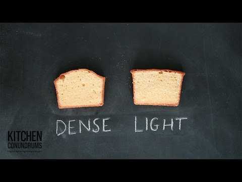 The Science Behind Pound Cake - Kitchen Conundrums with Thomas Joseph