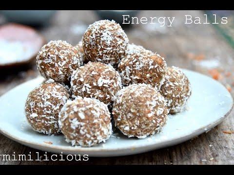 Energy Balls- BESTER SNACK!! Vegan, Gluten frei, Zuckerfrei!