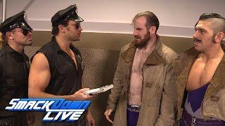 Breezango accuse The Vaudevillains of stealing: SmackDown LIVE Exclusive: Nov. 8, 2016
