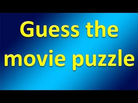 Movie Puzzle | Part 2 | Find the movie name puzzle