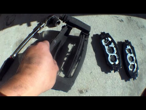 IN DETAIL: Front brake pad REPLACEMENT Scion XB √