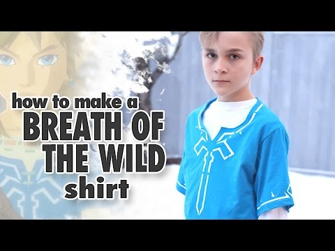 How to make a Champion's Tunic - Link's Breath of the Wild Blue Shirt
