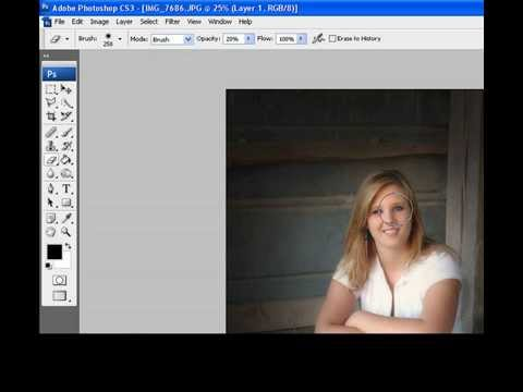 Adding a vignette to an image in Photoshop CS3