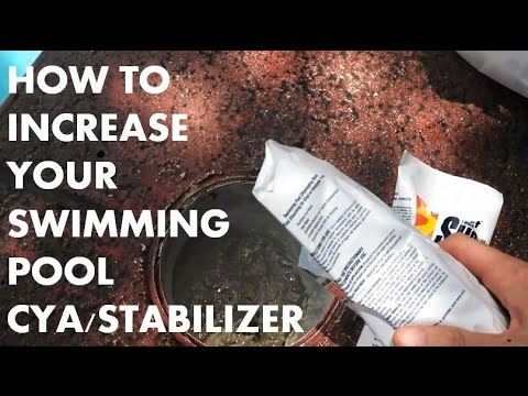 How To Add Chlorine & Cyanuric Acid (Stabilizer/Conditioner) To Your Swimming Pool