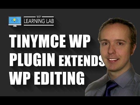 TinyMCE WordPress WYSIWYG Can Be Upgraded Using The TinyMCE Advanced Plugin | WP Learning Lab