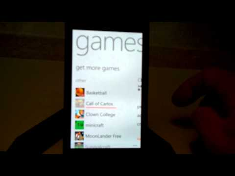 How to install and uninstall an app on the Nokia Lumia 900