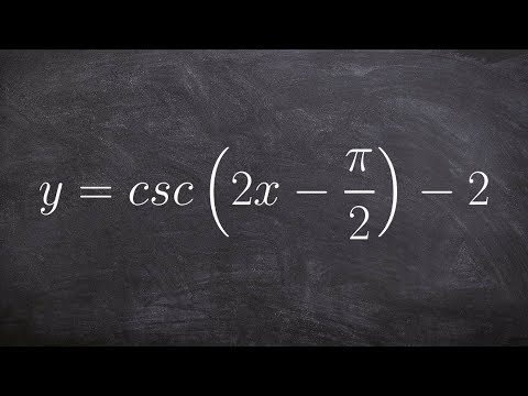 Learn How to Graph the Cosecant Function with a Phase Shift and Vertical Shift