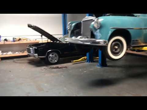 Lucky's Garage progress on the Monte