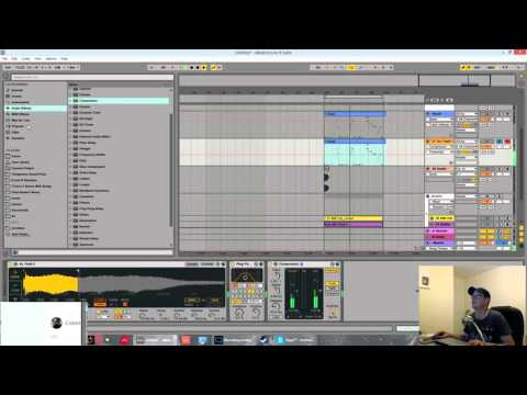 Ableton Tutorial - Vocal to Trap Lead in Simpler