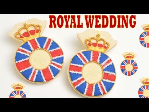 ROYAL WEDDING RING COOKIES by HANIELA'S