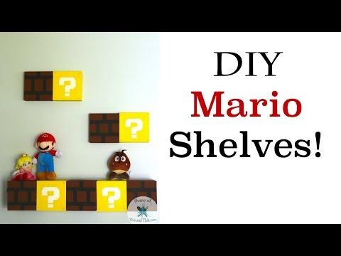 DIY Mario Shelves | Nerdy Crafts Ep.7