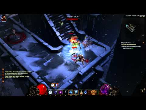 Diablo III Level Up Fast POST-Act3 nerf (Wizard Version)