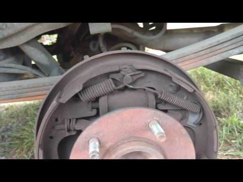 1996 Ford F-150 Rear Brake Shoe replacement