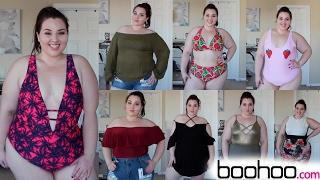 Boohoo Try-On Haul: Spring Break Edition |Plus Size Fashion|