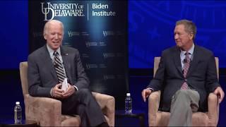 Gov. John Kasich & V.P. Joe Biden - University of Delaware