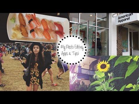 My Photo Editing Apps + How I Edit My Instagram Pics! 2015