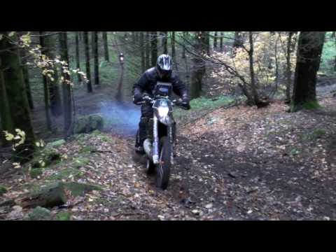 Trail riding in France with Sport Adventure - the Trefle du Morvan
