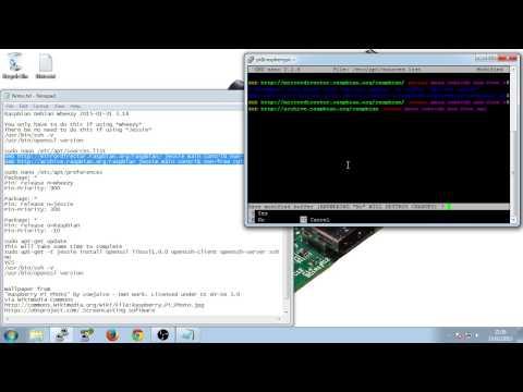 Raspberry Pi - OpenSSH 6.7 - OpenSSL - updating - highlights
