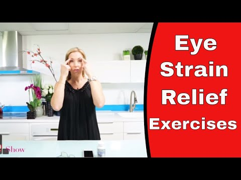 Eye Strain Relief Exercises : How to Improve vision - VitaLife Show Episode 251