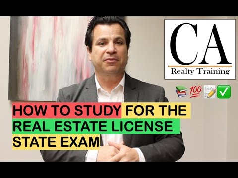 Ep. 30: How To Study For The California Real Estate License Exam