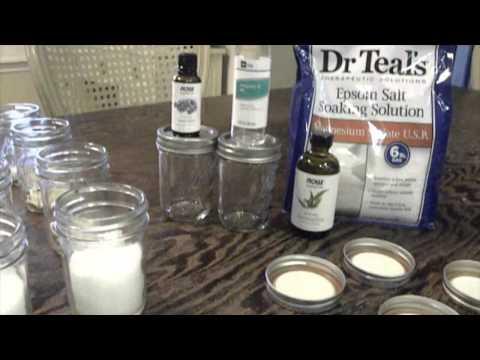 Bridal Shower Favor/ Spa Salts