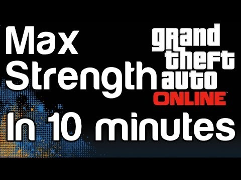 GTA 5 Online - Max Strength Stat in 10 Minutes! Grand Theft Auto 5 Strength Skill | WikiGameGuides