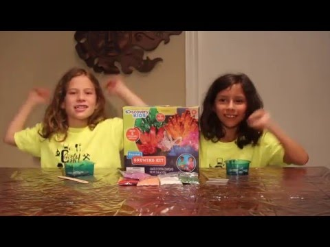 Ep 10: Crystal Growing Kit by Discovery Kids