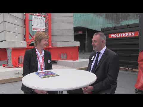 Intermat 2018: Wolffkran in France