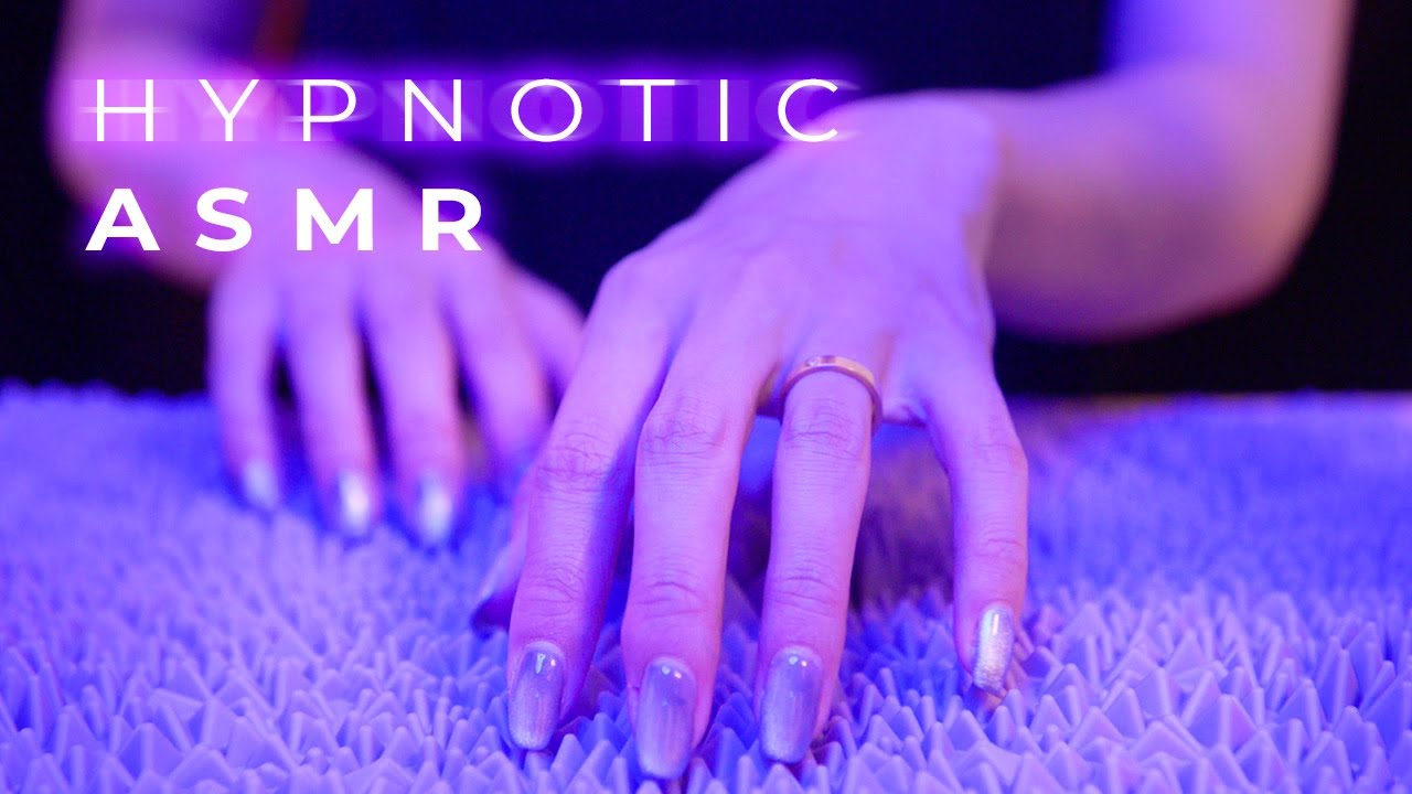 ASMR Hypnotic Surface Tapping, Scratching, Tracing Sounds (No Talking)