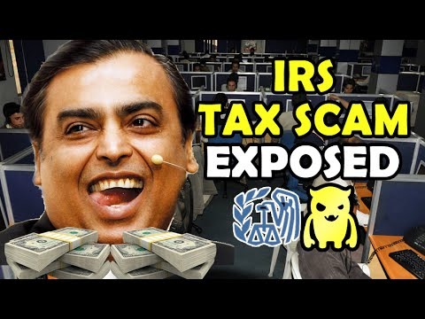 IRS Tax Scam Exposed - Ownage Pranks