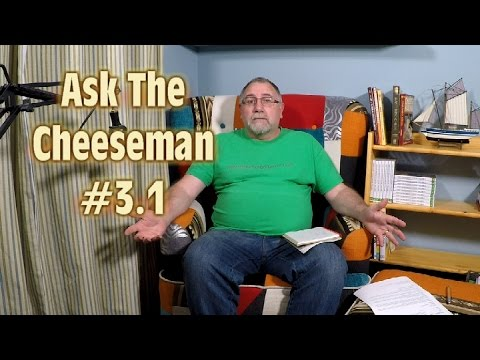 Correction For Rennet and Goat's Milk - Ask the Cheeseman 3.1